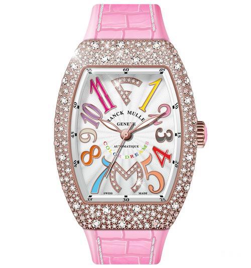 这款法穆兰女性手表,各位朋友有没有动心啊