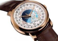 手表回收几折江诗丹顿世界时手表?