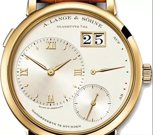 朗格手表回收价格查询