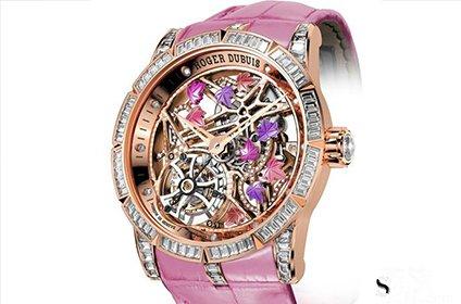 罗杰杜彼Brocéliande手表回收价几折