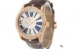 罗杰杜彼玫瑰金手表回收价格什么样?