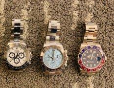 劳力士手表回收几折,迪通拿熊猫盘为什么受欢迎?