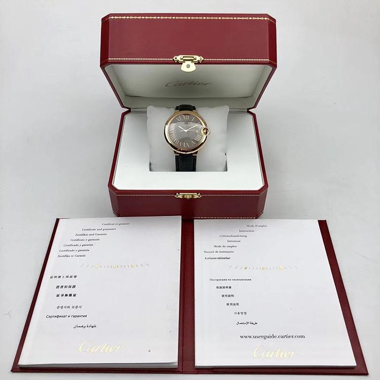 二手正品卡地亚蓝气球系列W6920037男款手表
