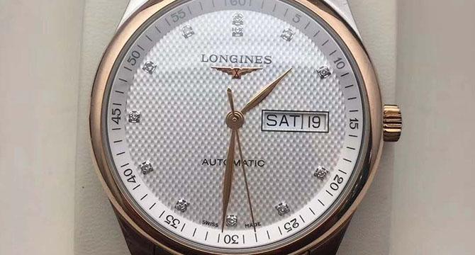 浪琴名匠系列L2.755.5.97.7手表
