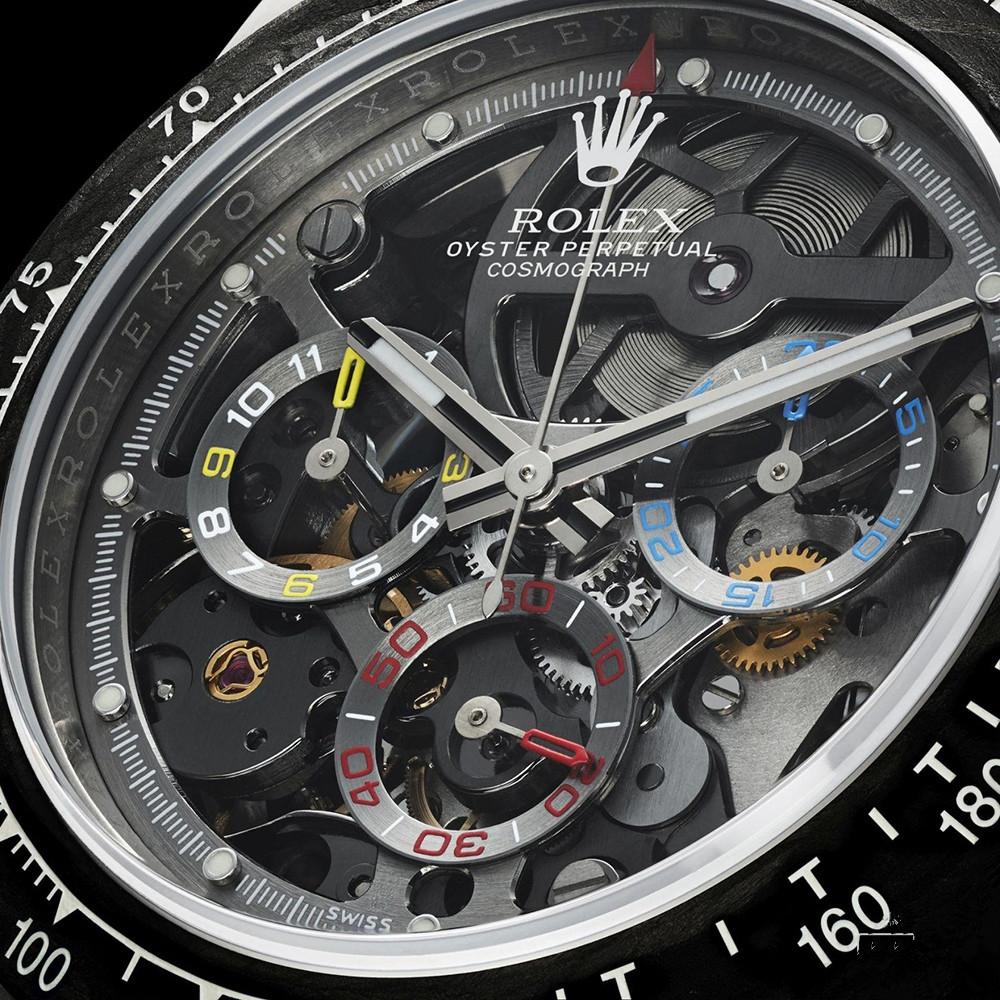 劳力士18年新款镂空腕表回收