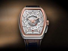 法穆兰V 45 HU GMT世界时间腕表回收价格怎么样?